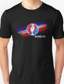 Uefa Euro 2016 Cup, European Football competition in France T-Shirt