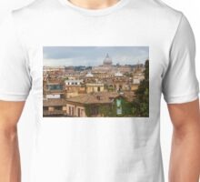 Messy, Fascinating and Wonderful - the Roofs of Rome Unisex T-Shirt