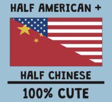 Half Chinese 100% Cute One Piece - Short Sleeve