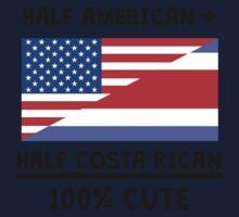 Half Costa Rican 100% Cute Kids Tee
