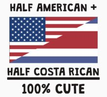 Half Costa Rican 100% Cute One Piece - Short Sleeve