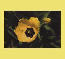 Yellow Tulip One Piece - Short Sleeve