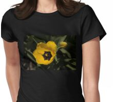 Yellow Tulip Womens Fitted T-Shirt