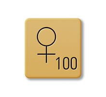 Scrabble Tile - Woman #1 by axemangraphics