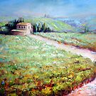 Vineyard in Italy by Ivana Pinaffo