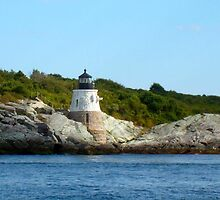 Castle Hill Lighthouse, Newport, Rhode Island by Jane Neill-Hancock