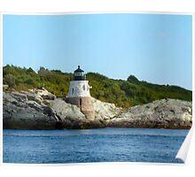 Castle Hill Lighthouse, Newport, Rhode Island Poster