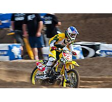 Chad Reed - Geelong SuperX 08 Photographic Print