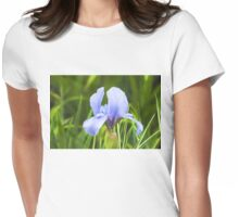 Pale Purple Iris - Impressions Of Spring Womens Fitted T-Shirt