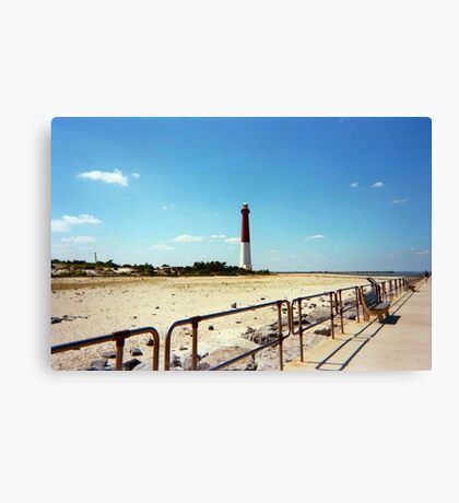 Barnegat Light, Old Barney, Long Beach Island, New Jersey Canvas Print