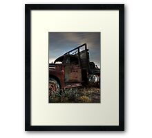 Old Ford F-5 Framed Print