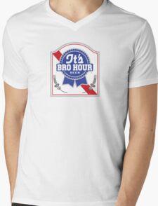 #BroBR Mens V-Neck T-Shirt