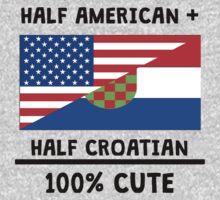 Half Croatian 100% Cute One Piece - Short Sleeve