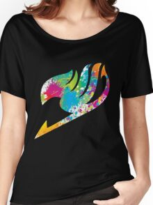 Paint Fairy Tail Logo Women's Relaxed Fit T-Shirt