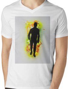 The Emergence of Man Mens V-Neck T-Shirt