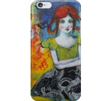 Butterflies And Dragons iPhone Case/Skin