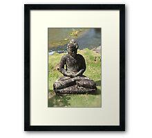 Small Buddha  Framed Print