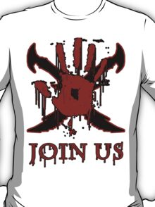 "***AWESOME*** Dark Brotherhood ""JOIN US"" T-Shirt"