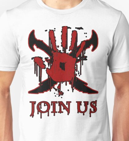 "***AWESOME*** Dark Brotherhood ""JOIN US"" Unisex T-Shirt"