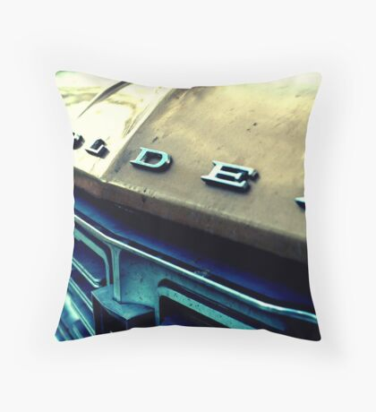 'olden Throw Pillow