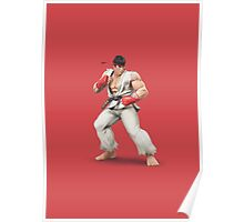 Ryu - Super Smash Bros Poster