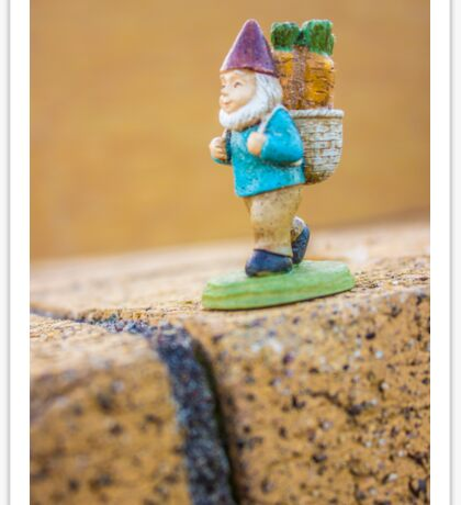 Gnome Bricks Sticker