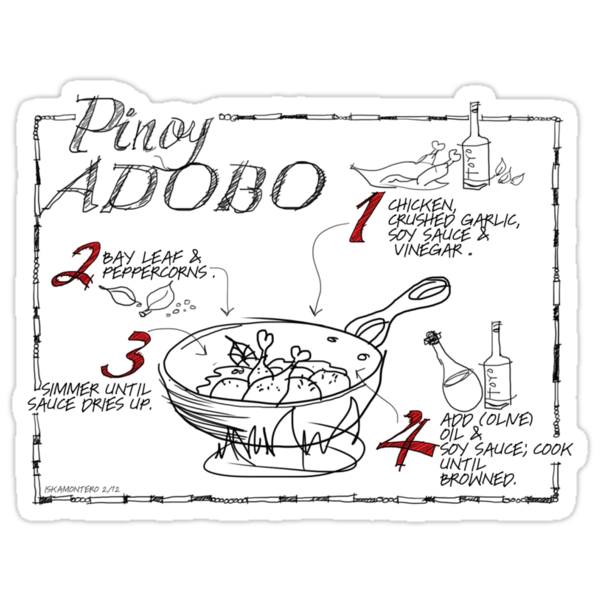 Chicken Adobo by iskamontero