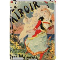 French belle epoque mime theatre advertising iPad Case/Skin