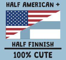 Half Finnish 100% Cute Baby Tee