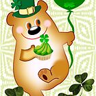 Teddy With St. Patrick's Greeting (1065 Views) by aldona