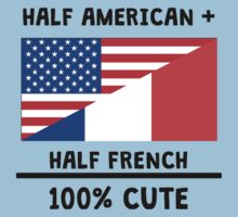 Half French 100% Cute One Piece - Short Sleeve