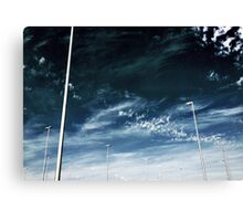 New Age Trees Canvas Print