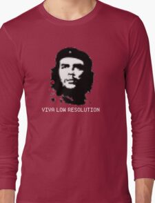 Viva Low Resolution Long Sleeve T-Shirt