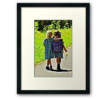 Best Friends 2 Framed Print