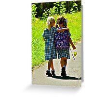 Best Friends 2 Greeting Card