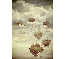 Floating Islands Photographic Print