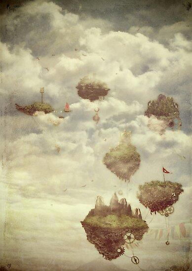 Floating Islands by Sybille Sterk