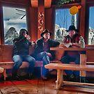 Three Mountain Cowboys by Antonio Zarli