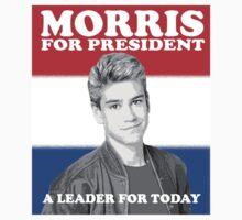 Morris for President Kids Tee