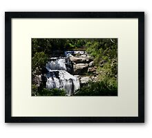 Spectacular Waterfall of Victoria Framed Print