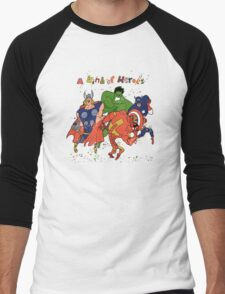 A kind of heroes. Men's Baseball ¾ T-Shirt