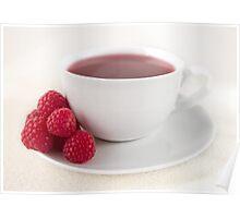 Raspberry Tea Poster