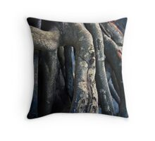 Roots Uprising Throw Pillow