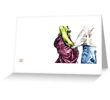 Compagnon 동행  Greeting Card