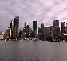 Circular Quay, Sydney by Noel Elliot