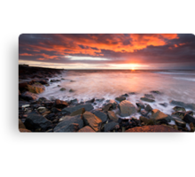 Fire in the Sky.. Canvas Print