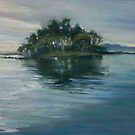 Pelican Island, Wallis Lake, NSW by Terri Maddock