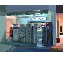 Convenience Store Downstairs Photographic Print