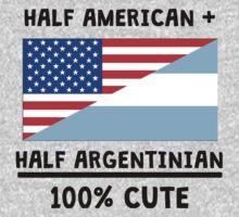 Half Argentinian 100% Cute Baby Tee