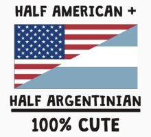Half Argentinian 100% Cute Kids Clothes